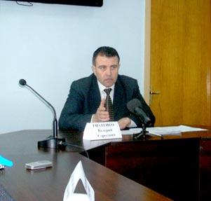 Валерий Гнатенко отвечает на вопросы журналистов