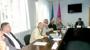 Делегация из Тернопольской области на приеме у городского головы Валерия Гнатенко