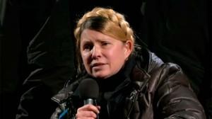 Первое выступление Юлии Тимошенко на Майдане после освобождения